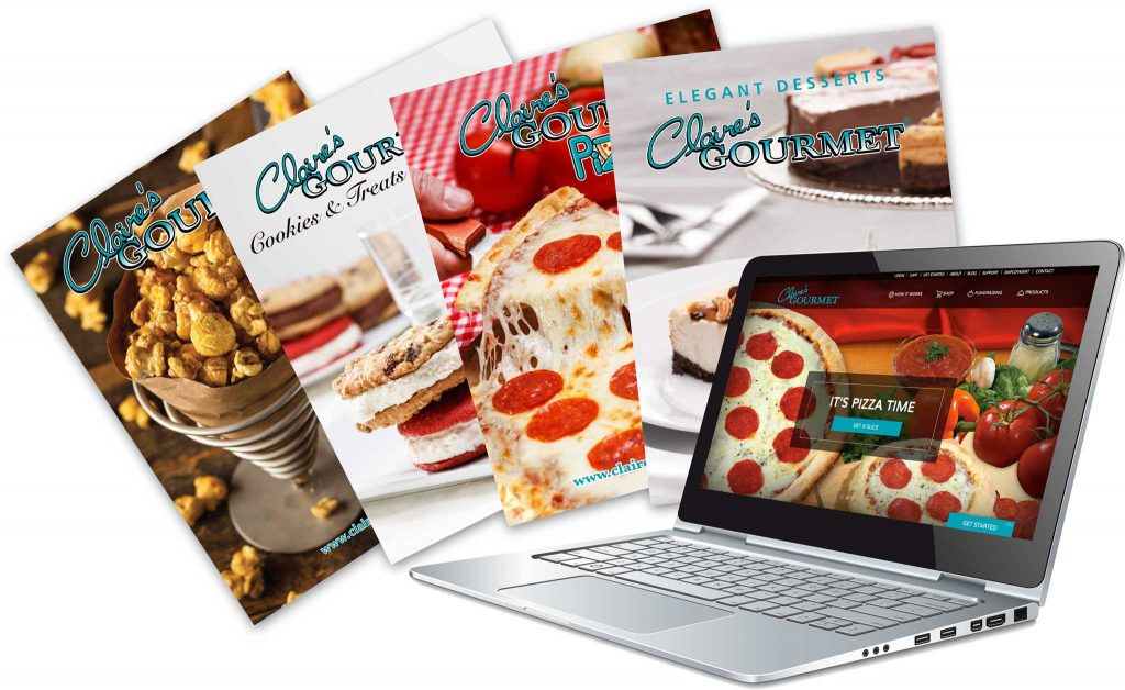 Claire's Gourmet Free Fundraising Brochures
