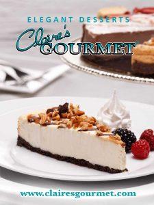 Gourmet desserts for fundraising