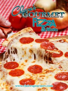 Pizza and more foods for fundraising