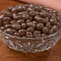 choc covered raisins